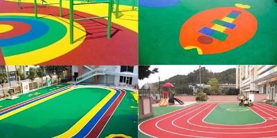 广东惠东儿童游乐区EPDM安全地垫顺利竣工!